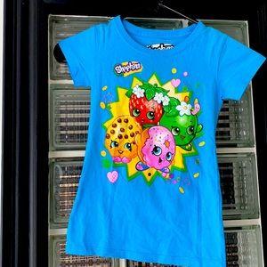 EUC Shopkins 100% Cotton T Shirt